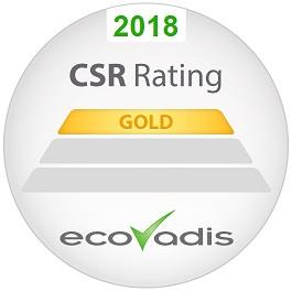 LOGO ECOVADIS GOLD 2018
