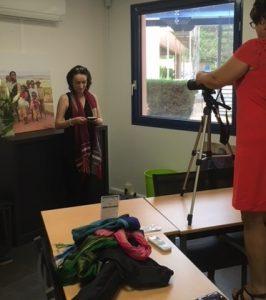image tournage crowdfundingf